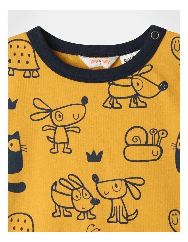 Ollie Pyjamas Set Mustard image 2