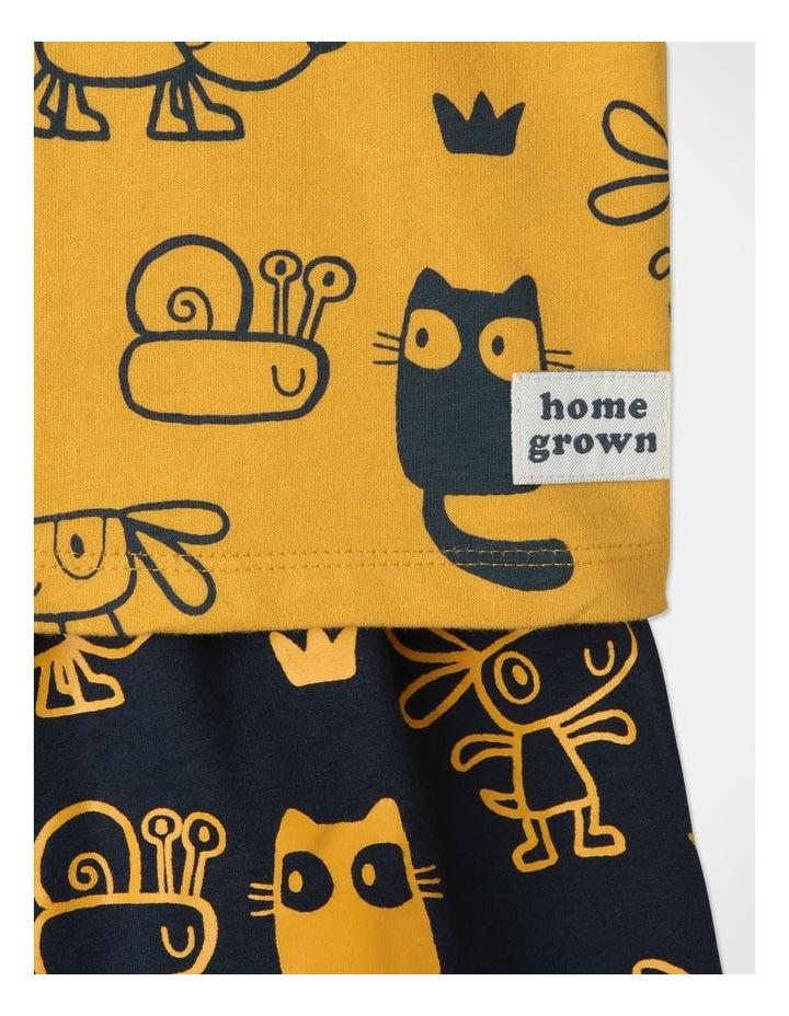Ollie Pyjamas Set Mustard image 4