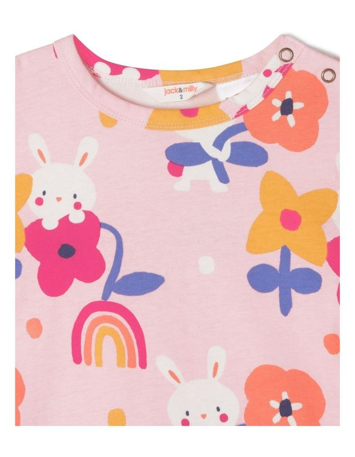 Ollie Knit PJ Set Pink image 2
