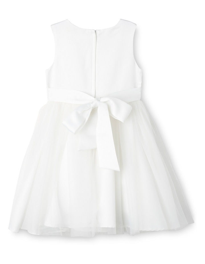 Flower Girls Dress With Bow 0-2 image 2
