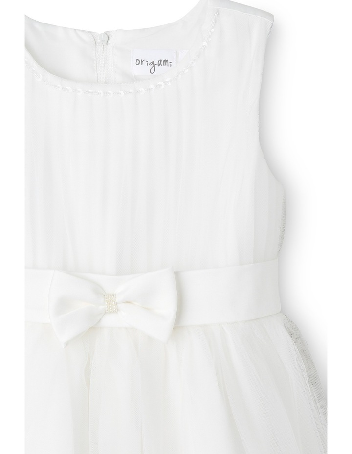 Flower Girls Dress With Bow 0-2 image 3