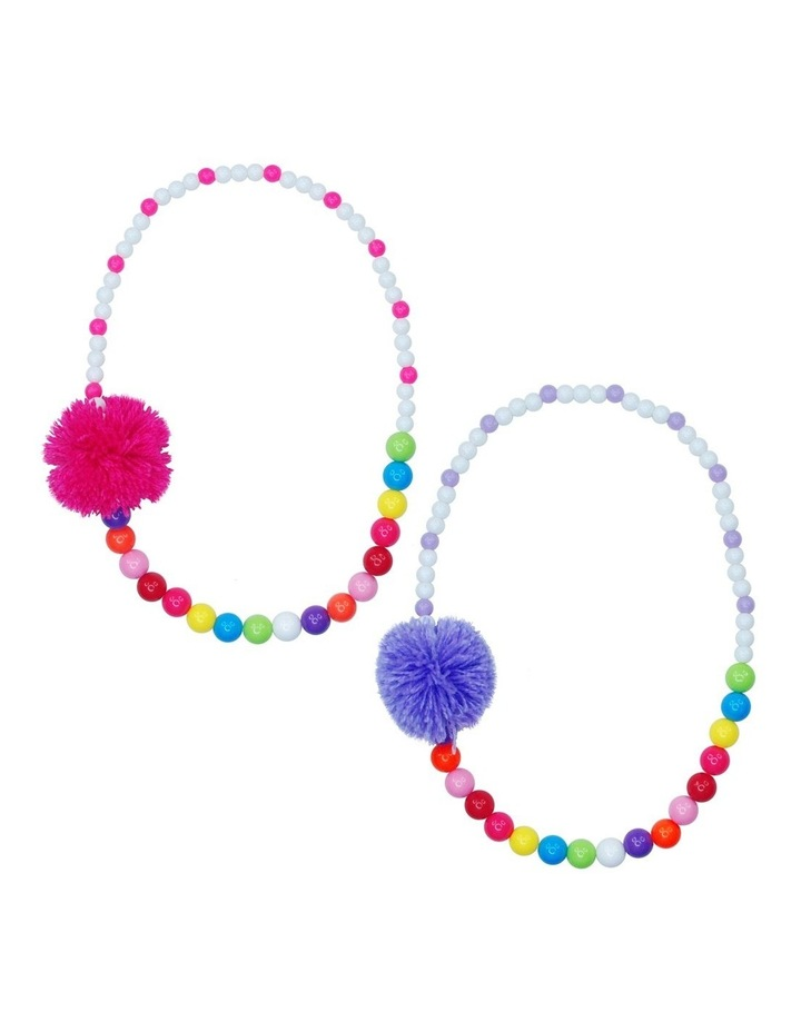 Pom Pom Party Necklace - Available in 2 colourways image 1