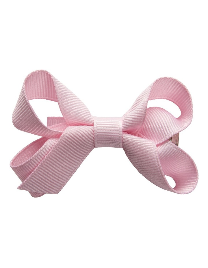 Small Bow Pale Pink image 1