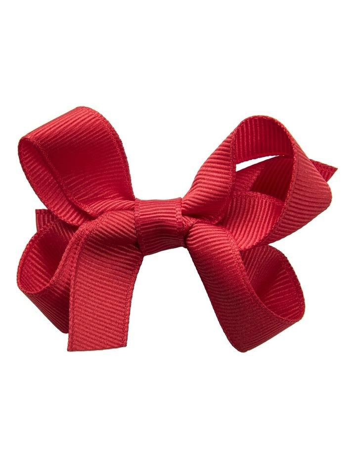 Small Bow Red Velvet image 1