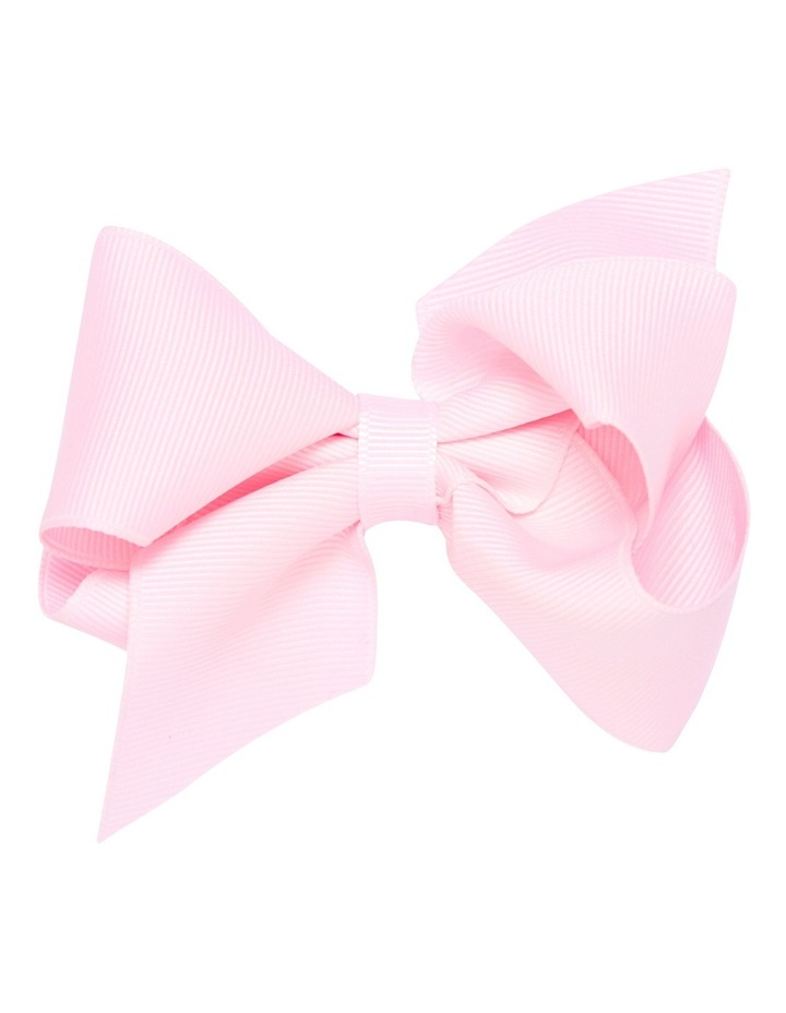 Medium Bow Pale Pink image 1