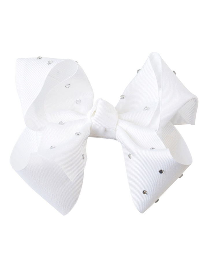 Large Bow Sofia diamonte image 1