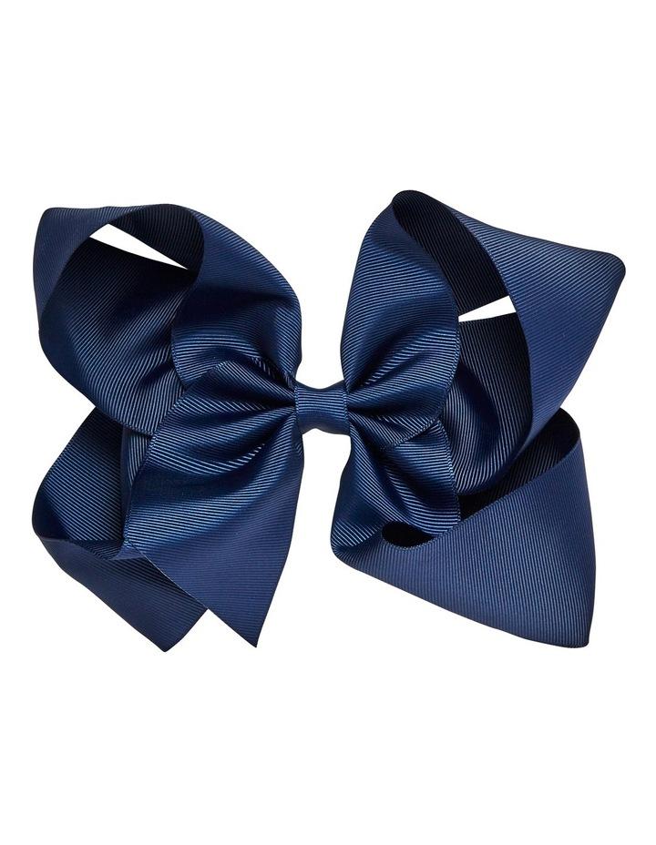 Jumbo Bow Capri Blue image 1