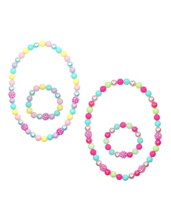 Sugar Coated Necklace & Bracelet Set - Available in 2 Colours - Each Sold Separately image 1