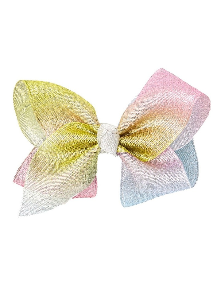 Large Bow - Rainbow image 1