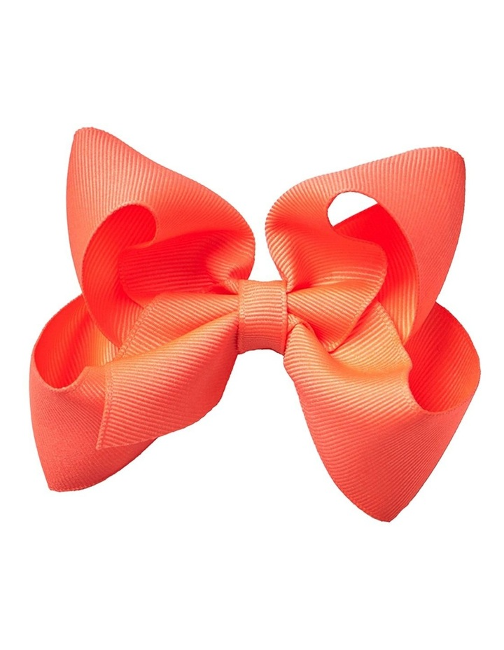 Medium Bow - Orange Soda image 1