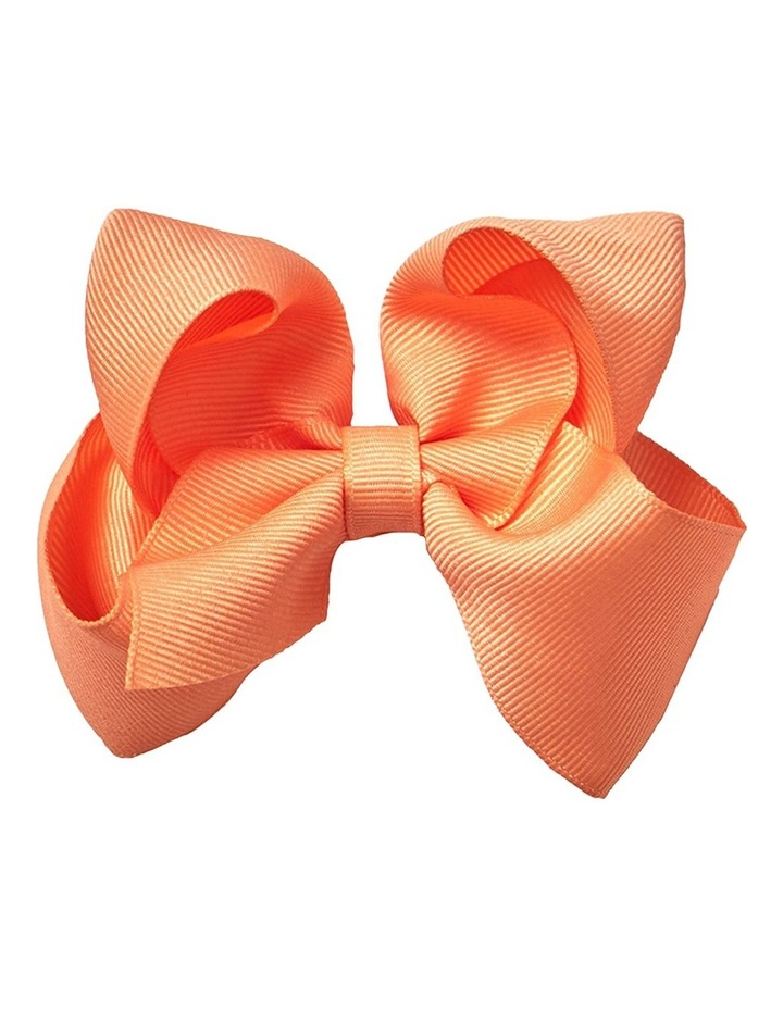 Medium Bow - Orange Popsicle image 1
