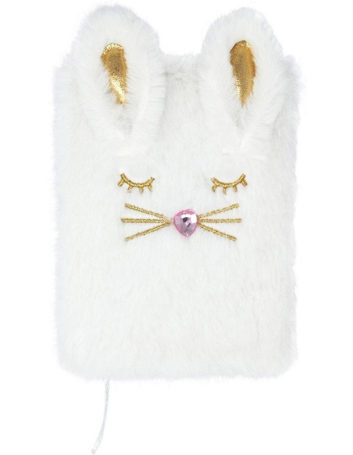 Bunny Kisses Diary - White image 1