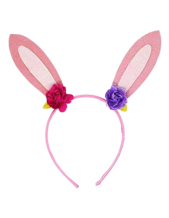Floral bunny headband image 2