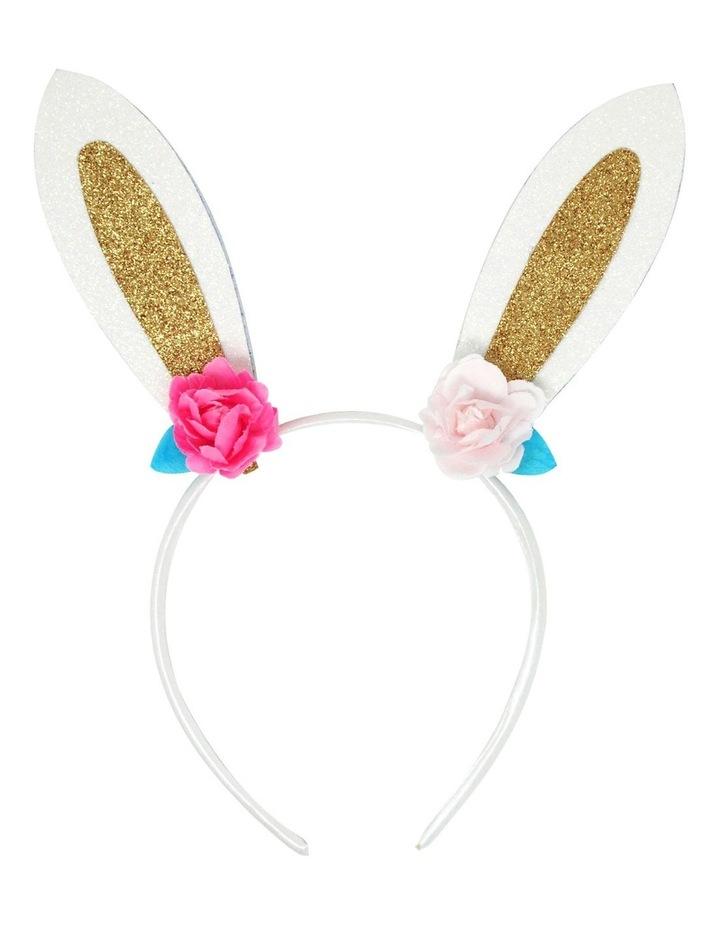 Floral bunny headband image 3