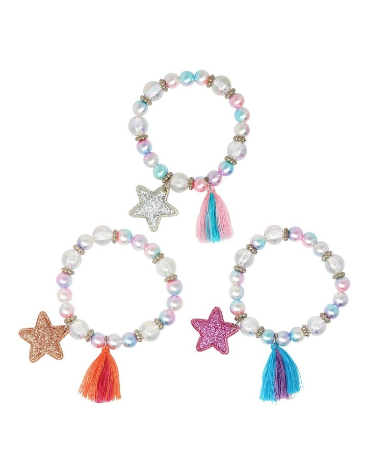 Pearlescent Star And Tassel Bracelet image 1