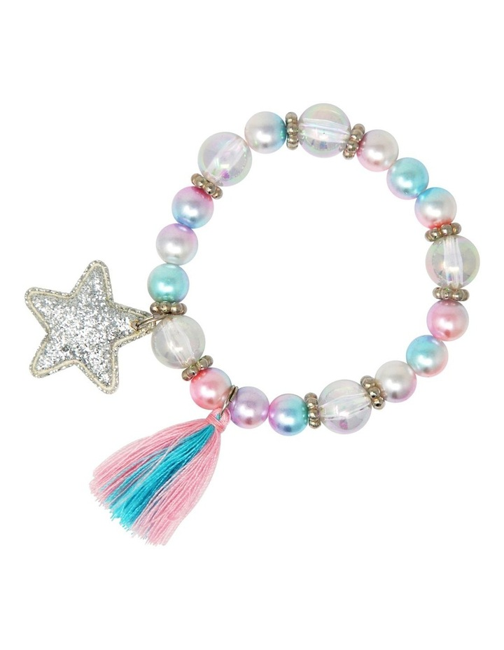 Pearlescent Star And Tassel Bracelet image 2