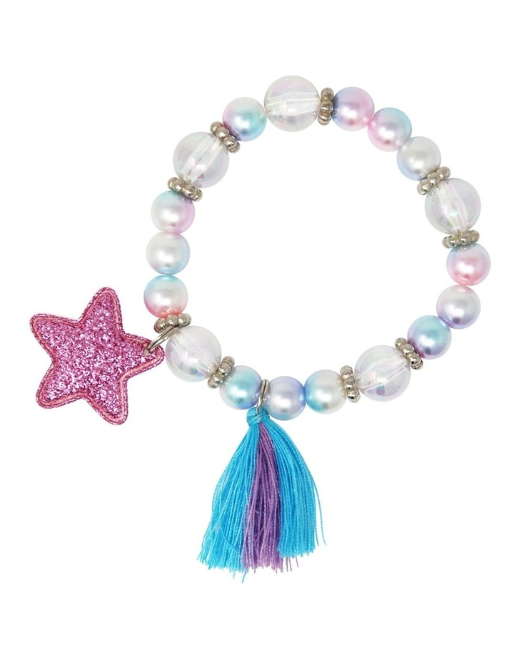 Pearlescent Star And Tassel Bracelet image 3