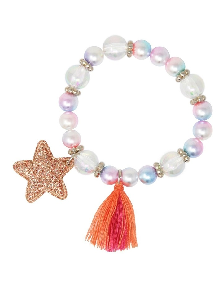 Pearlescent Star And Tassel Bracelet image 4