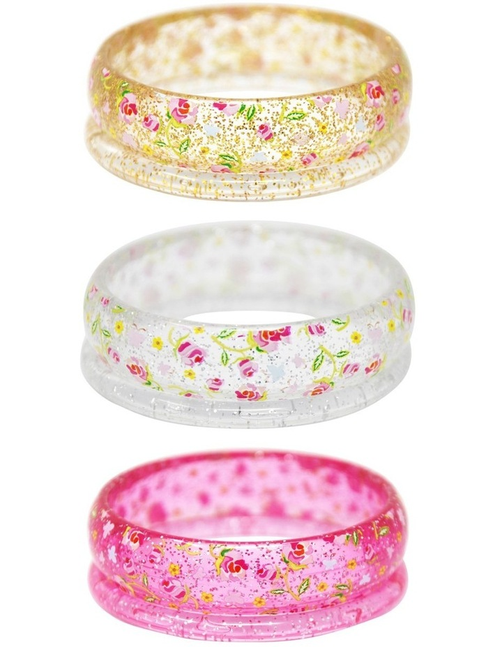 Garden Rose Bangles - Available in 3 Colourways image 1