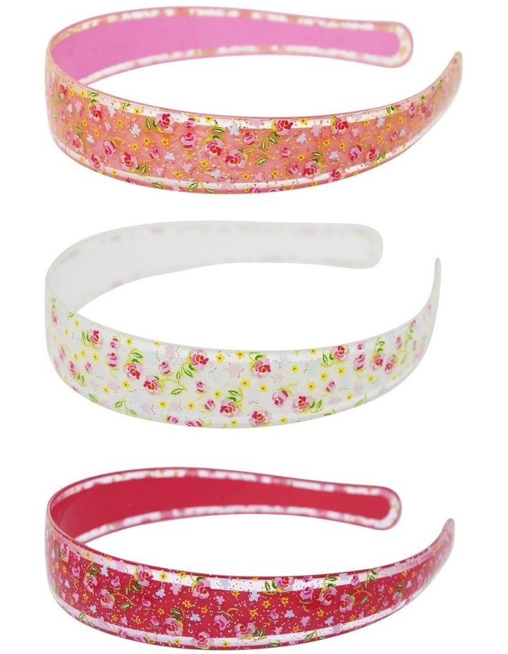 Garden Rose Headband - Available in 3 Colourways image 1