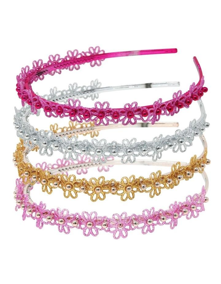 Glitter Flower Headband image 1