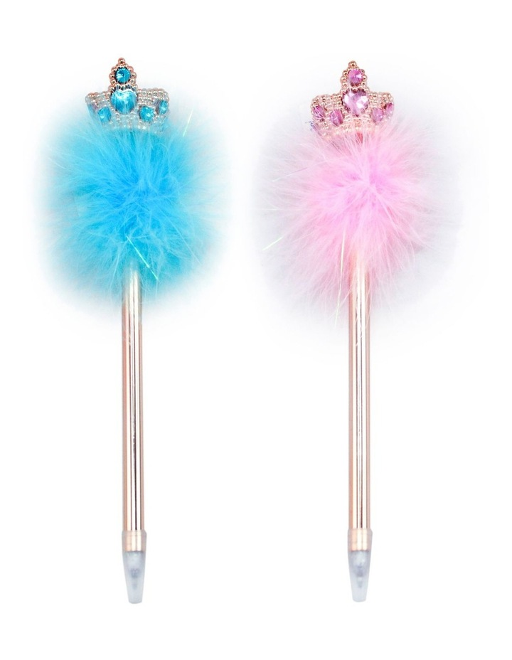 Rose Gold Princess Fluffy Pen - Available in 2 Colourways image 1