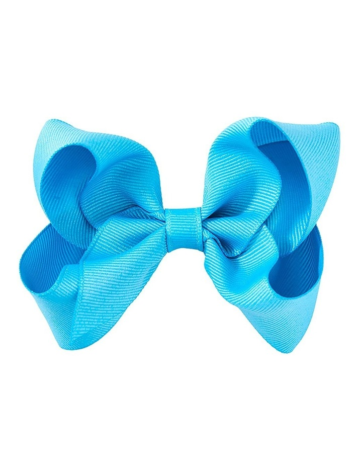 Medium Bow Aqua image 1