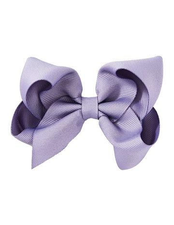 7057636551f06 Pixies Bows Medium Bow - Lavender