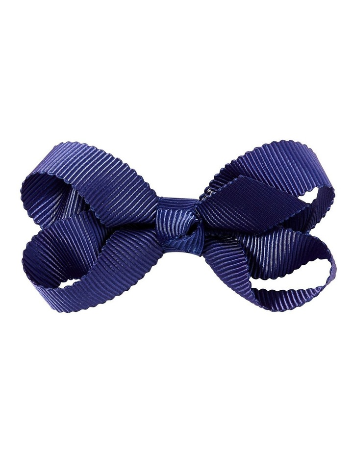 Small Bow Navy image 1