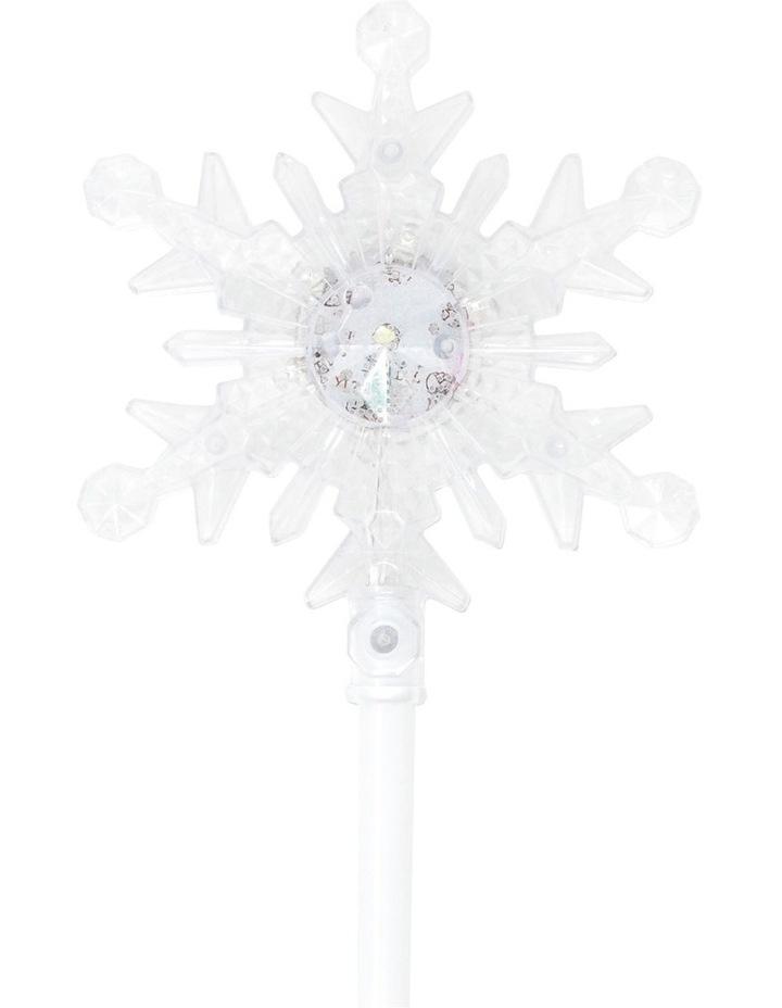 Snow Princess Light Up Snowflake Wand image 2