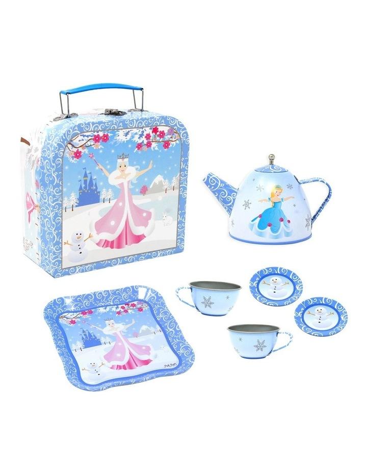 Snow Princess Tin Tea Set In Mini Carry Case image 1