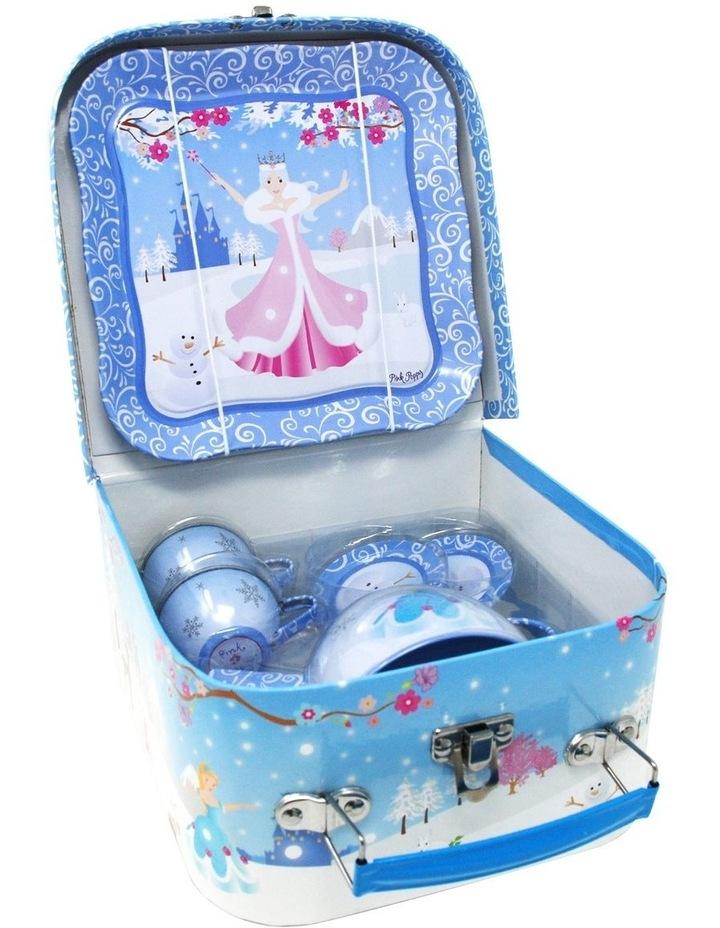 Snow Princess Tin Tea Set In Mini Carry Case image 2