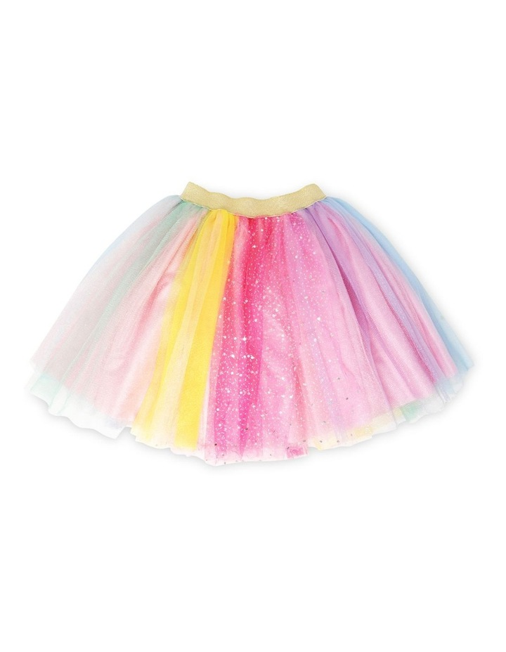 Unicorns And Rainbows Skirt Size 3/4 image 1