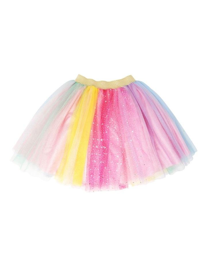 Unicorns And Rainbows Skirt Size 5/6 image 1