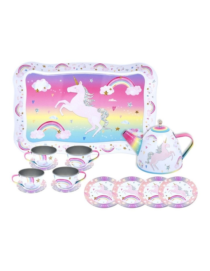 Cotton Candy Dreams Tin Tea Set image 1
