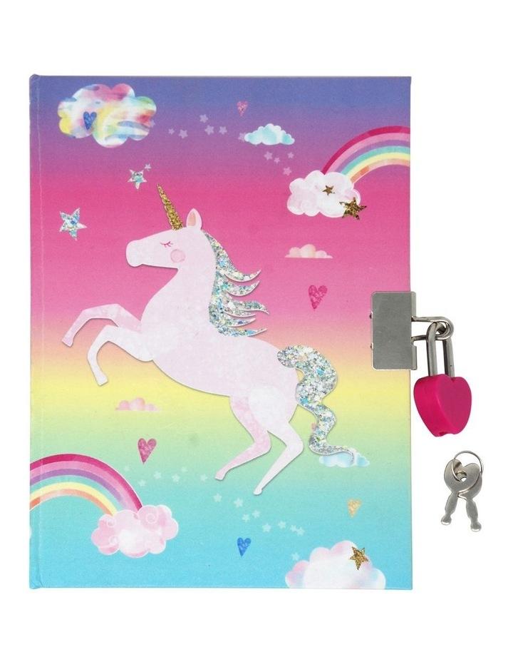 Unicorn Scented Lockable Diary image 1