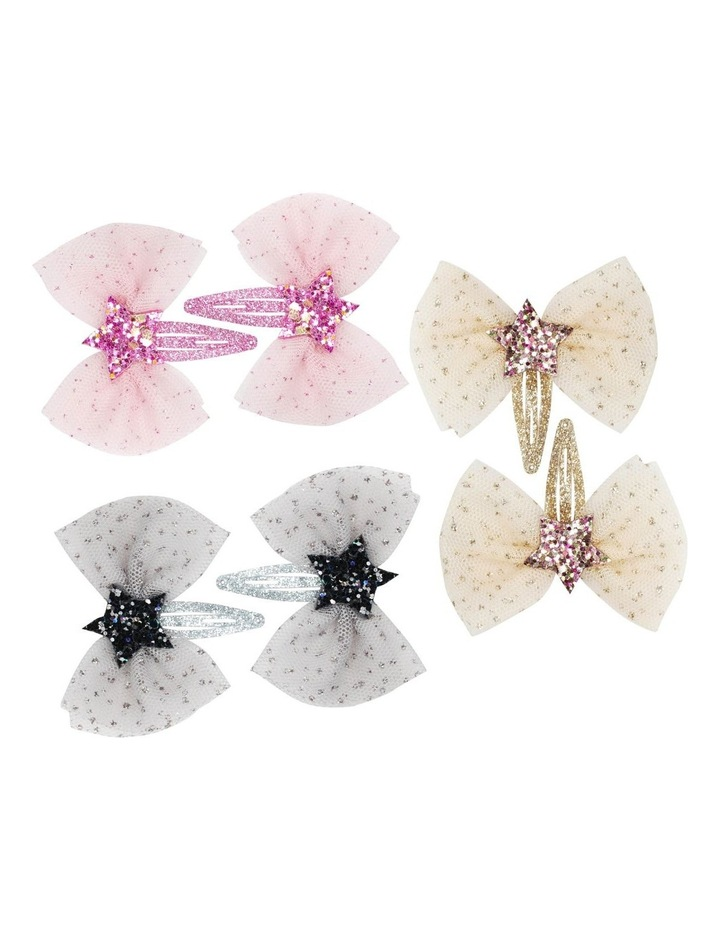 Magical wishing star Hair clips - Available in 3 colours - Each Sold Separately image 1