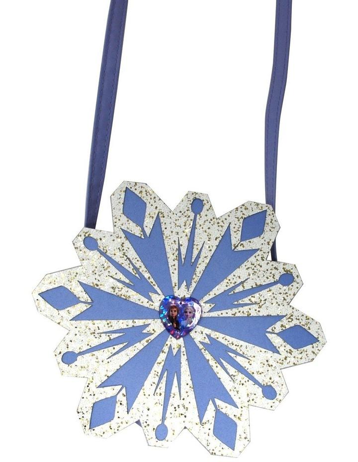 Frozen 2 Glitter Snowflake Shoulder Bag image 1