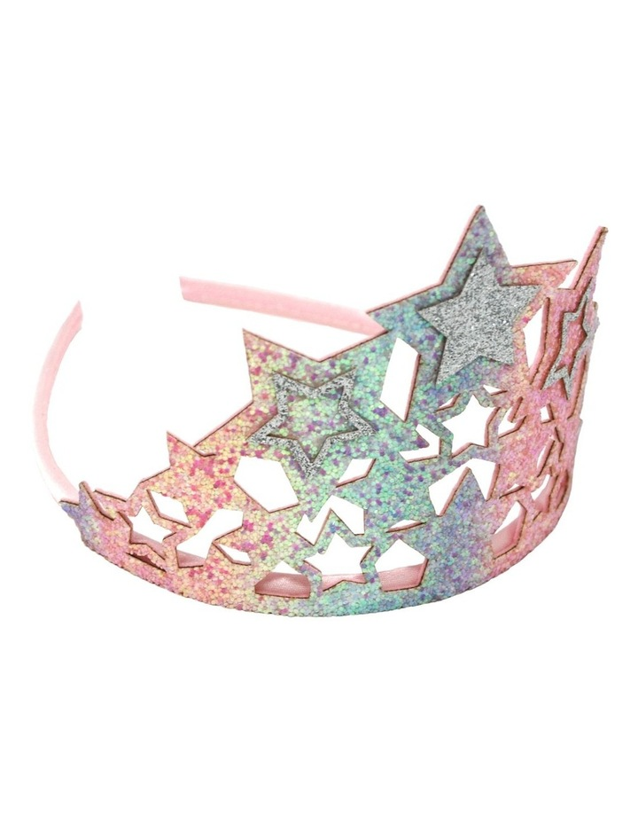 Chunky Glitter Star Crown - Available in 2 colours- Each Sold Separately image 2