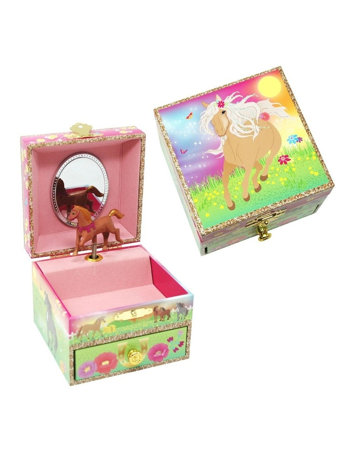Horse Meadow Small Music Box image 1