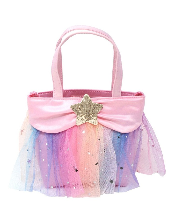 Pastel Rainbow Tutu Bucket Bag image 1