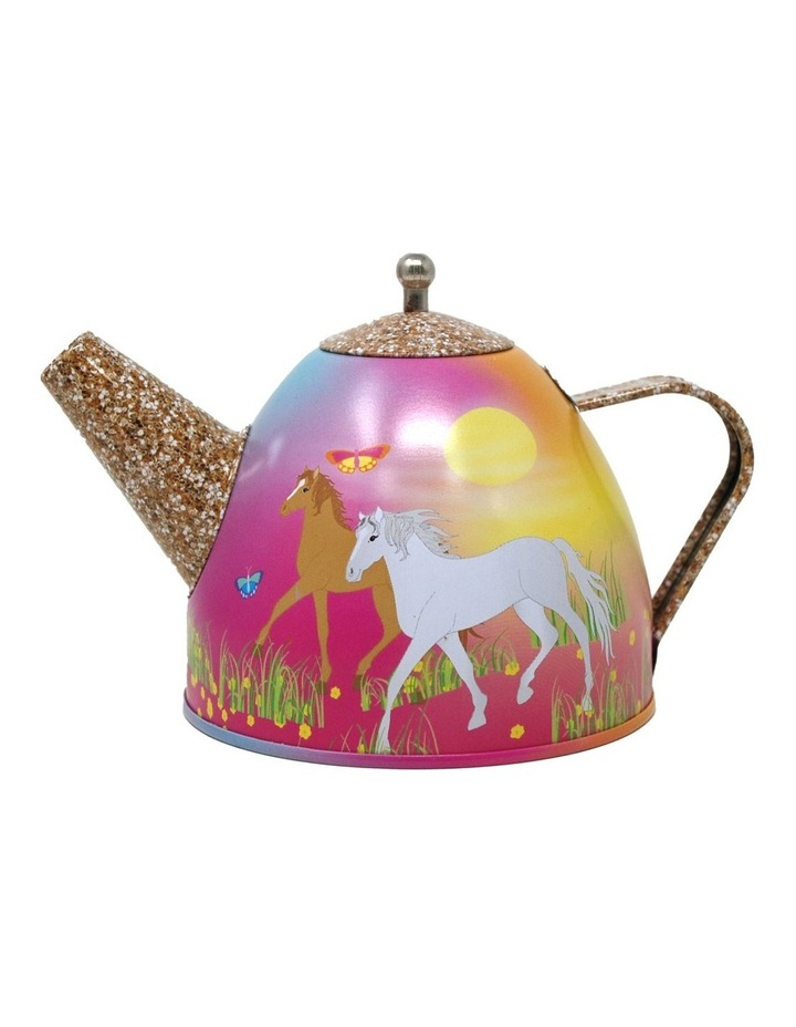 Horse Meadow 7pc Tin Tea Set in Mini Case image 2