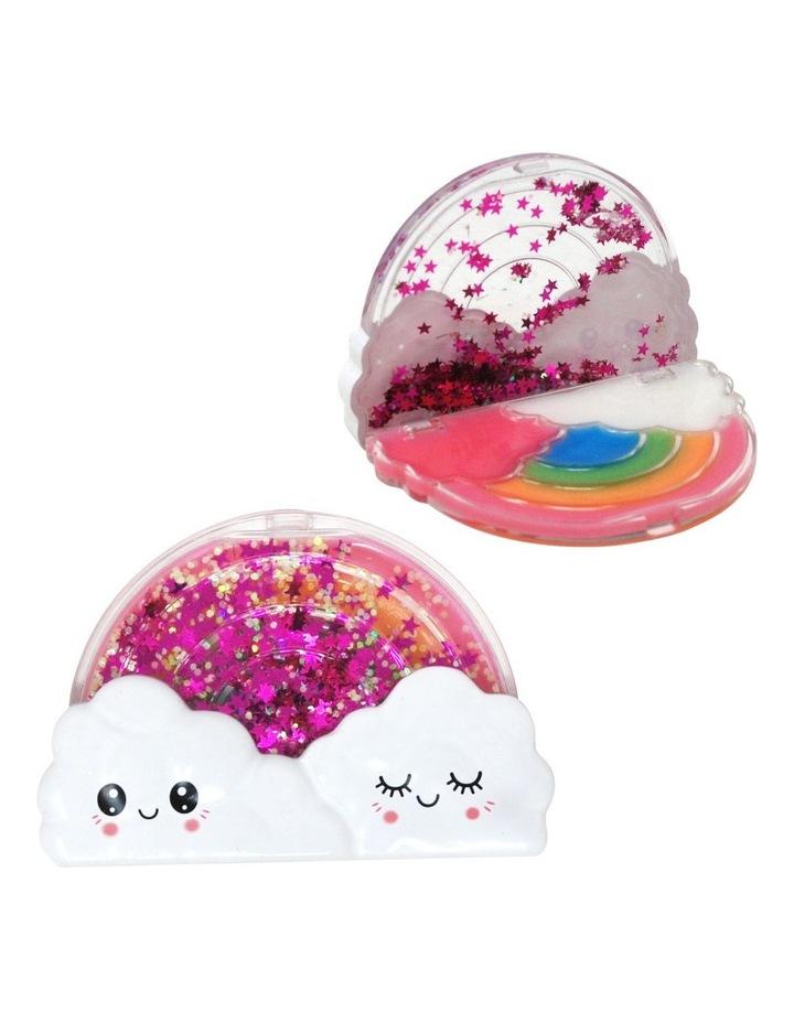 Rainbow Glitter Shaker Lipgloss Compact image 1
