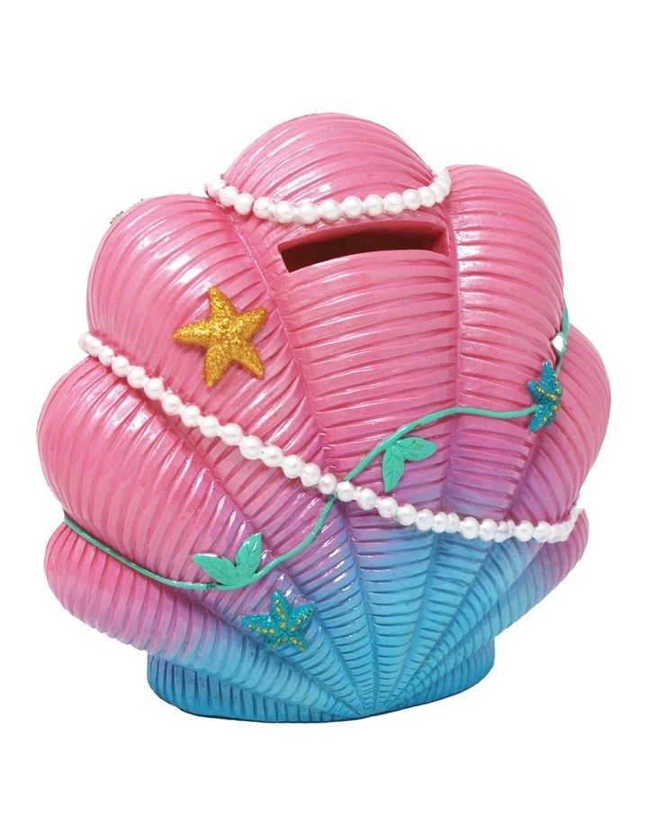 Mermaid Dreaming Shell Money Box image 1