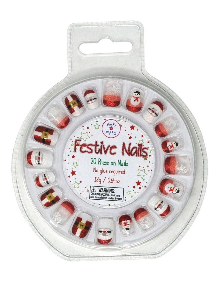 Festive Nails - Press On Nails image 1