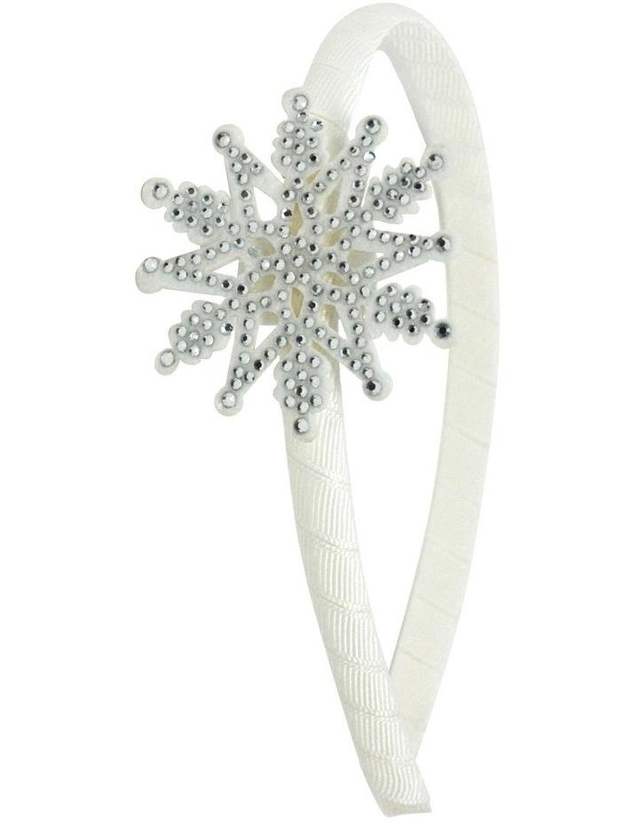 Rhinestone Snowflake Headband image 1