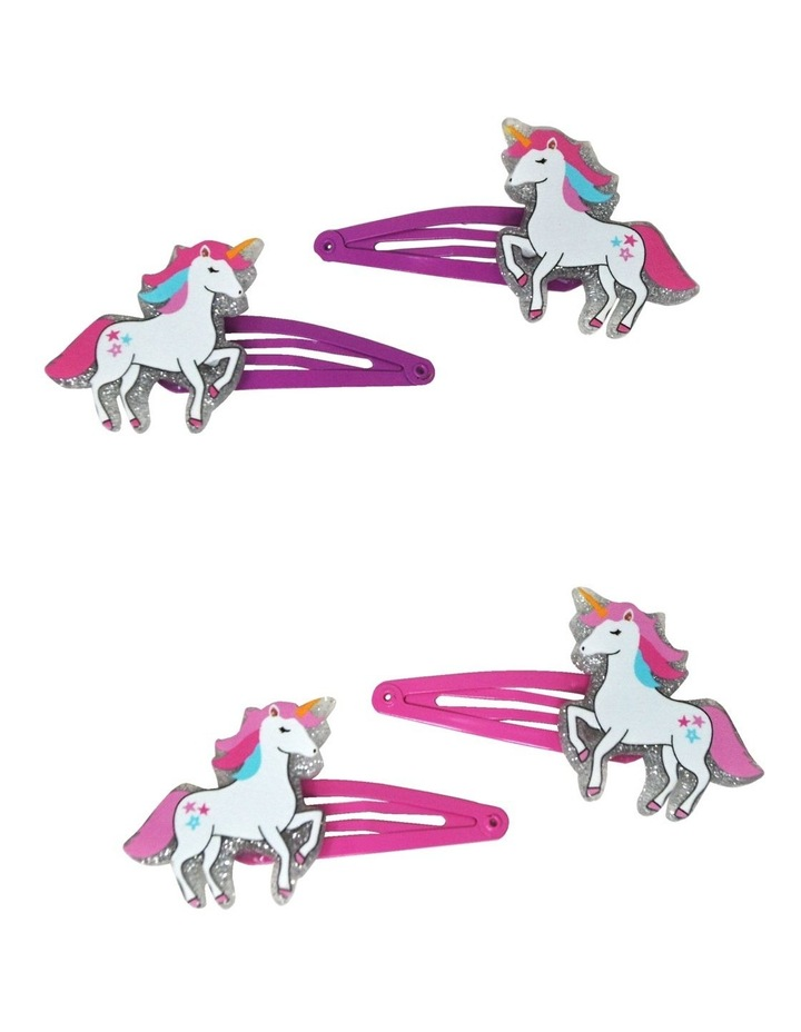 Prancing Unicorn Resin Snap Clips - Available in 2 Colourways image 1