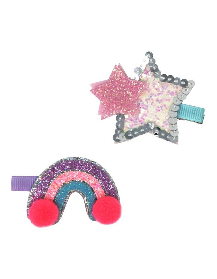 Star Light Hairclip Set image 1
