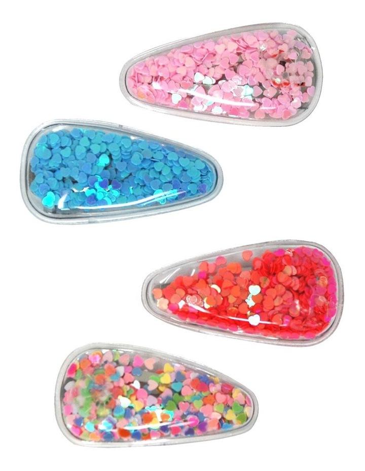 Glitter Shaker Snapclip Set image 1