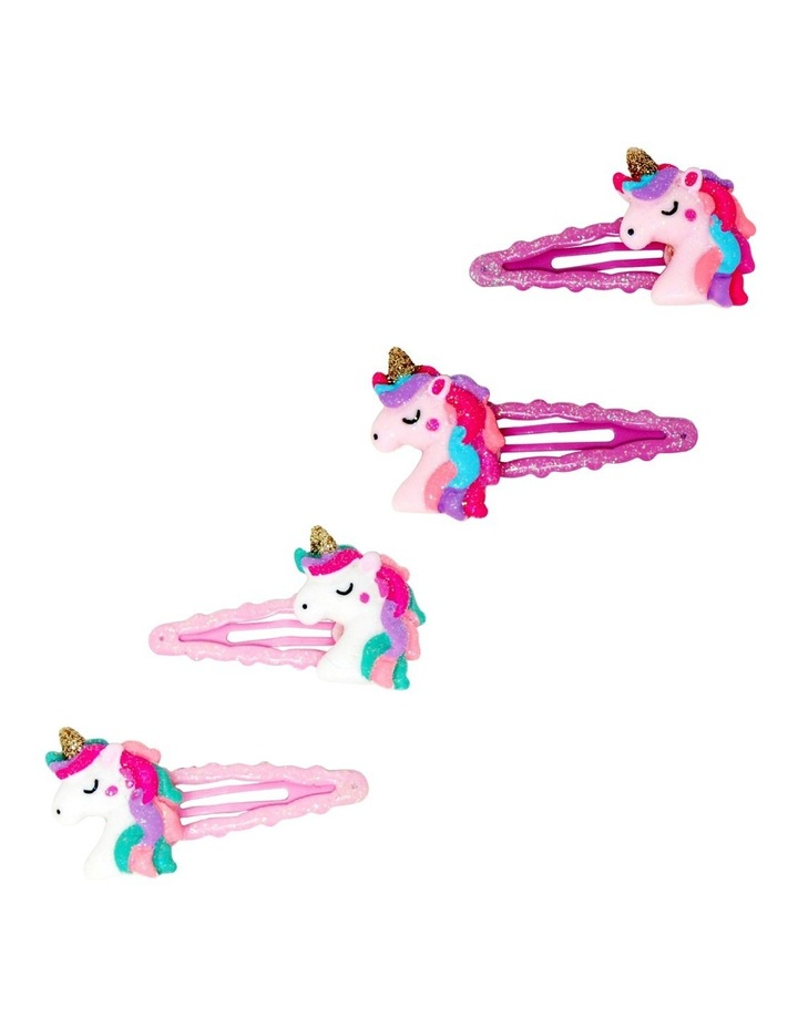 Unicorn Dreams Scalloped Snap Clips - 2 Colourways Available image 1